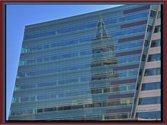 rewoT kcolC teertS gniK (Freeman Mester) Tags: seattle blue reflection nikon hdr kingstreetstation d90 3xp 18200mmf3556