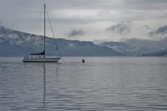 Blue Note, Loch Duich (FiveTimes5) Tags: reflection scotland boat highlands kintail lochduich sal1870 sonyalphadslra200