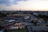 Blick über die Dächer von Hamburg