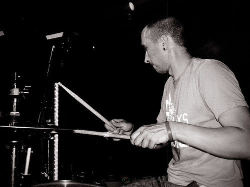 Pavel Ermochenco, drums