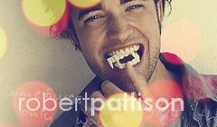 Robert Pattison (partywounds) Tags: art twilight graphics graphic bokeh signature fangs blend blends robertpattison edwardcullen