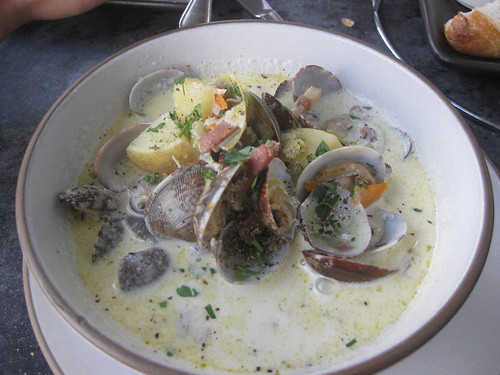 Hogs Island in San Francisco - Clam Chowder