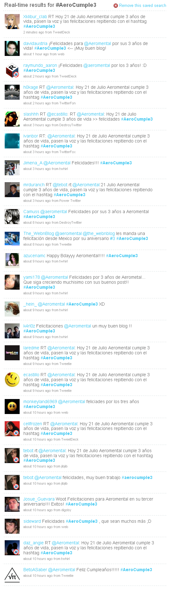 AeroCumple3 Aeromental twitter Hashtag