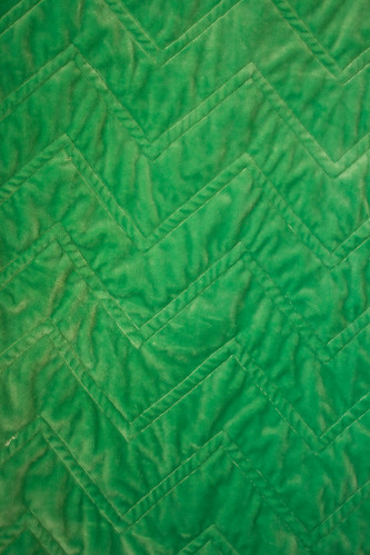 zig zag quilt for baby