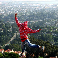 It's time to Fly (Elizabeth) Tags: california nature fly high jump view bayarea reach mybackyard romanticview dailynaturetnc10 westernextreme