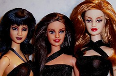 halliwell sisters (plumaluna07@sbcglobal.net) Tags: dolls gothic barbie witches charmed halliwell