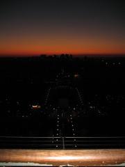 Paris Sunset (Jon Barbour) Tags: from sunset paris france tower europe eiffel canoncamera europeantravel flickrcommunity herethereandeverywhere worldwidewandering wetraveltheworld gününeniyisithebestofday travelplanet myglance geographyofphotography silverstarsblipfree flickrsocialclub geographicphotosets bmcboringmanclub