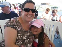 Leah & I in Bermuda