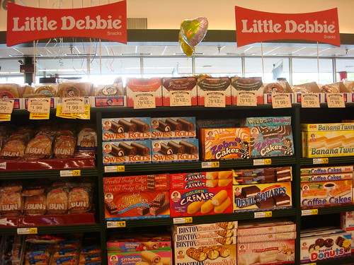 Little Debbie Display