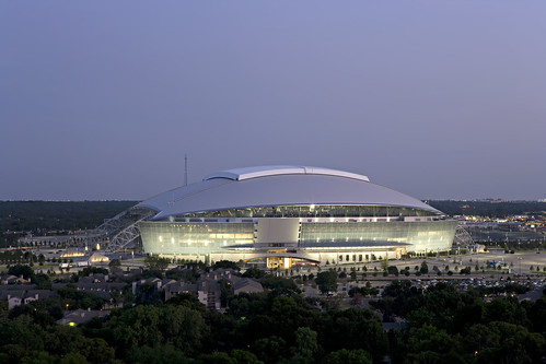 The newly completed Cowboys Stadium in Arlington, Texas. (Courtesy Ralph Cole Photography)