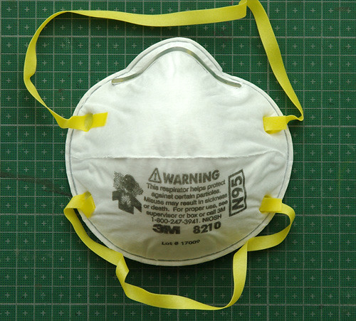 3M 8200 disposable respirator mask