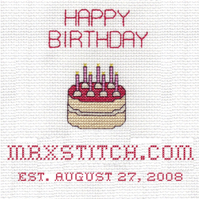 Happy birthday MrXStitch.com
