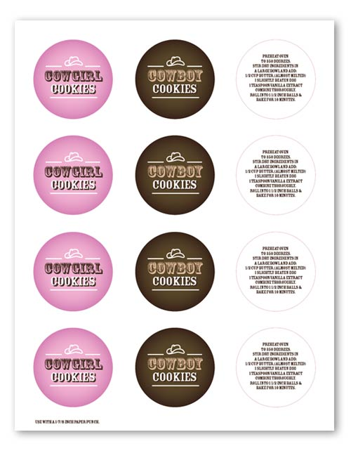 Mason Jar Cookie Labels Cookie Jar Labels