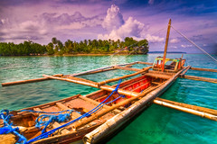 Pearl Farm (B2Y4N) Tags: beach nature boat nikon colorful angle wide tokina tips hdr davao pearlfarm mindanao bangka d90 photomatix kadayawan dabaw 1116mm b2y4n bryanrapadas