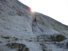 Bull Dozier (5.7), pitch one (rhyang) Tags: sierranevada rockclimbing tuolumnemeadows