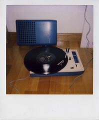 (la roller girl) Tags: polaroid vinyl 2007