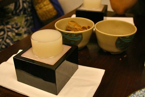 House Nigori Sake $6