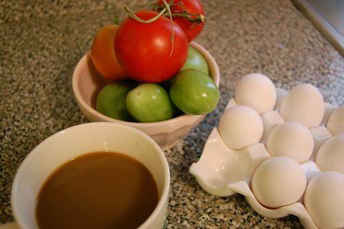 breakfast fixins'