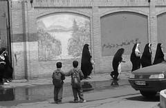 Schoolboys watching girls (Marcel Ha) Tags: iran kashan