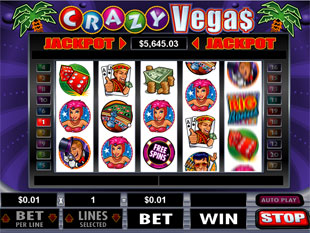 Crazy Vegas slot game online review