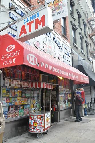 Economy Candy Store front.