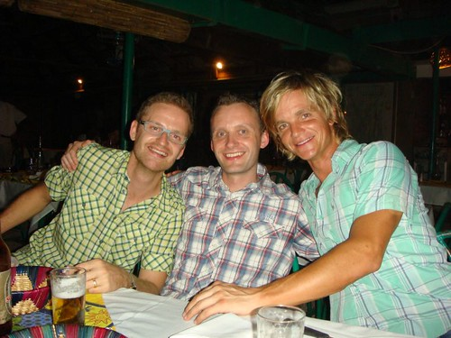 The Danish Trio in Ouaga: Niels, Peter, and I...