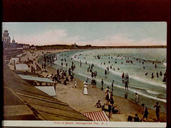 a1777 (Providence Public Library) Tags: beach narragansett postcardcollection narragansettpier narragansettpierri rhodeislandimages pc7528