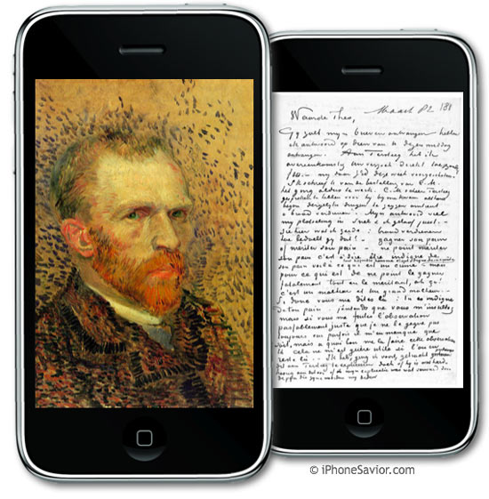 Vincent van Gogh iPhone App