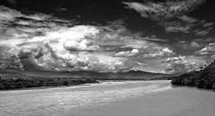 Rio Cauca - Cauca river (celta4) Tags: bw mountains byn clouds ro river colombia nubes andes montaas riocauca antioqua