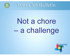 Club Bulletin Seminar October 2009