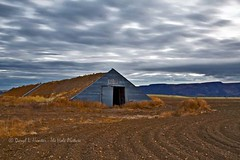 Idaho Sod Roof Potato Barn (Daryl L. Hunter - The Hole Picture) Tags: building barn farm falls storage idaho potato agriculture sodroof ririe idahosodroofpotatobarnririeidahofallseasternidahopotatofarmploweddirtidahofallsidahounitedstatesof