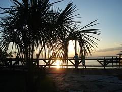 Por-do-sol em Belém