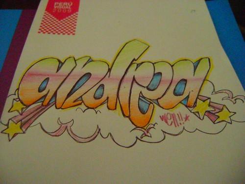 Graffitis que digan Andrea te amo - Imagui