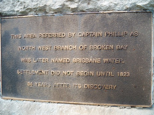 Governor Phillip marker Orana Street Green Point