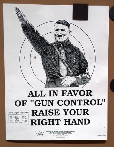 disarmed people are like sitting ducks