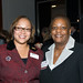 Darlene Robinson; Denise Mason of HSBC Bank