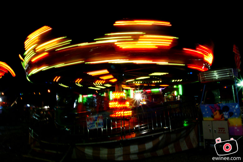 fun fair long shutter exposure