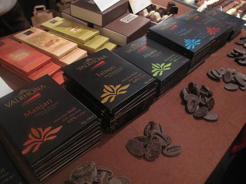 Valrhona chocolate...outside France!