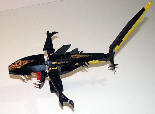 LEGO Atlantis 8058 - Guardian of the Deep - Completed - Extended