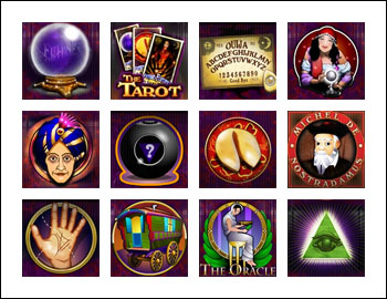free Future Fortunes slot game symbols