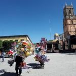 San Miguel de Allende: Jardín y globos