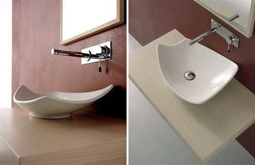Wash Basins in Elegant Color by Scarabeo