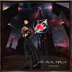 ezura + Black Mage (ezura Xue) Tags: vampire gothic fantasy secondlife neko alternative steampunk roleplay ezura