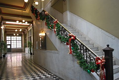 San Fernando Building lobby stairwell