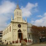 Valparaíso: Iglesia Corazón d María, Calle Uruguay
