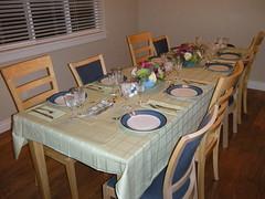 Pre Thanksgiving Dinner