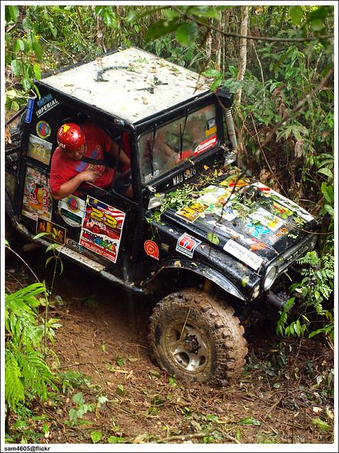 Ranau 4x4 Challenge - Kampung Tagudon Ranau - Toyota Blizzard