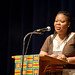 Leymah Gbowee, graduate of the MA in Conflict Studies program at EMU, speaks on the work of peacebuilding and her Christian faith.