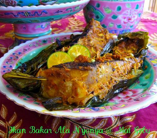 Ikan Bakar Ala Nyonya