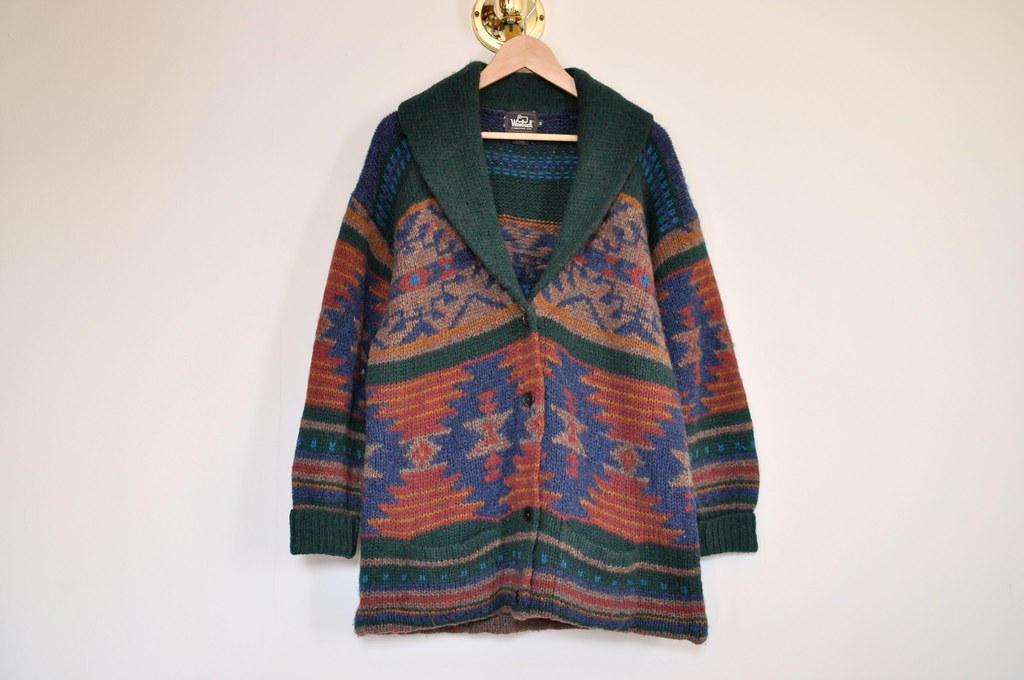 vintage oversized woolrich sweater